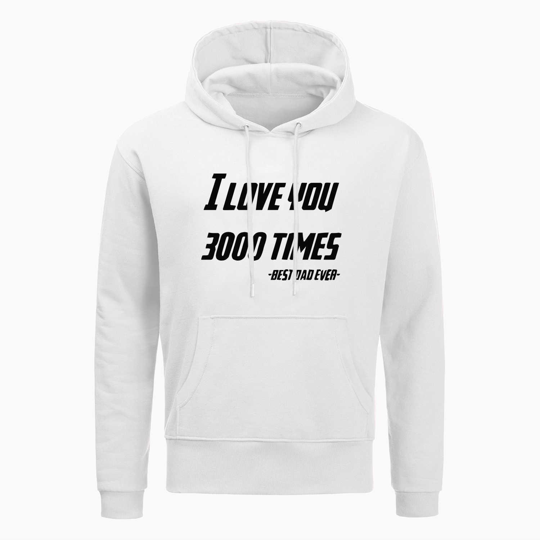 Die Avengers 4 Iron Man Tony Stark ICH Liebe Sie 3000 Hoodies Mode Casual Hoodie Winter Fleece Sweatshirt Harajuku Streetwear