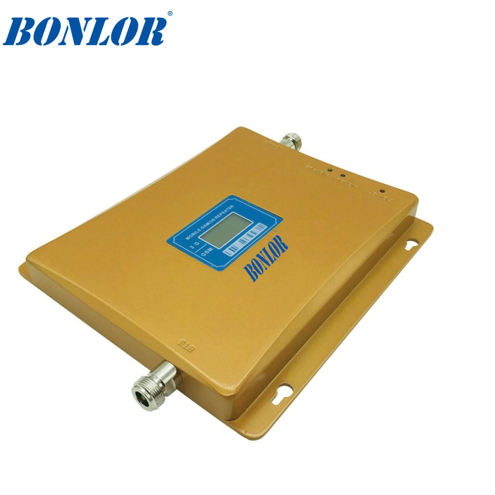 Dual Band Cellular Signal Booster GSM 900 3G 2100 Mobile Cell Phone Signal Repeater B8/B1 Amplifier Mobile Internet
