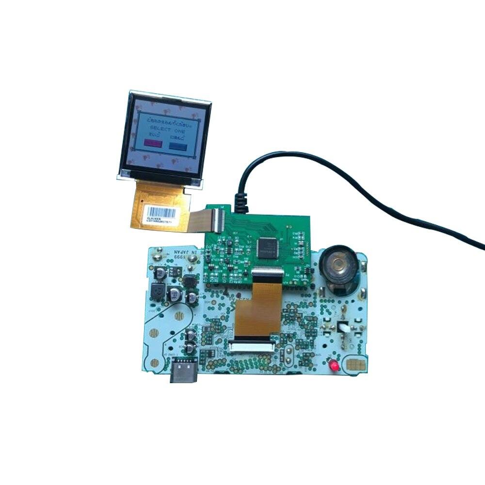 Remplacement pour NGPC rétro-éclairage LCD écran haute lumière Kits de Modification pour SNK NGPC Console LCD écran lumière gamepad accessoires - 3