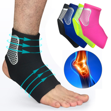 Ankle Support Brace High Elastic Adjustment Protection Foot Bandage Safety Running Basketball Sport Fitness Guard Band цена 2017
