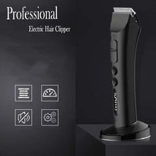 Professional Electric Hair Clipper for Men Rechargeable Salon Barber Hair Trimmer Shaving Cutting Machine 100-240V