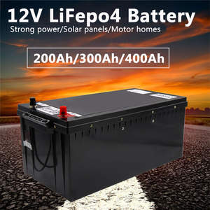 Power-Supply Lithium-Battery-Pack Solar Lifepo4 12v 20a-Charger for Outdoor Electric