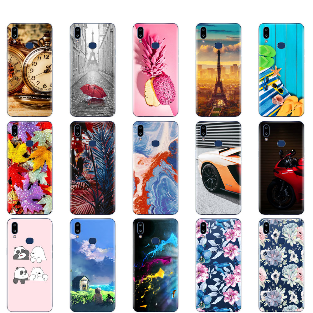 Case For Samsung A10S Case coque Soft Silicon Back Cover For Samsung Galaxy A10S GalaxyA10S A 10S <font><b>A107F</b></font> bumper shockproof cute image