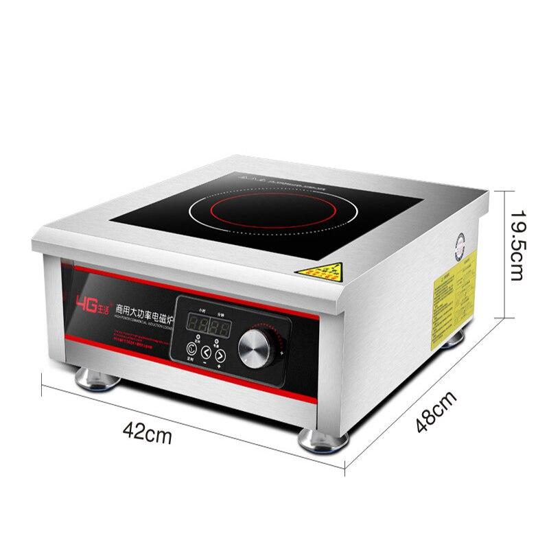 AC220 240V 50 60hz 6KW potenza elettrica piano cottura in vetroceramica bollente tè caffè riscaldamento FORNELLO CALDAIA CAFFÈ può peso 150KG pentola - 3