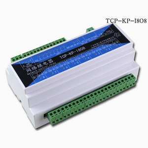 Промышленный 8-полосный сетевой релейный модуль, таймер, задержка времени, дистанционное управление, сетевой коммутатор TCPIP, 485, переключате...