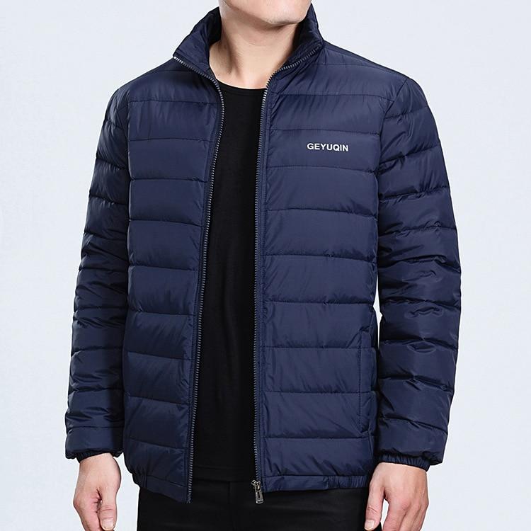 alta qualidade, casaco de inverno para homens