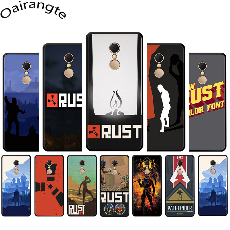 Rust game Silicone Phone Case for Redmi 4A 4X 5 6 A Plus Pro 7 GO Note 4 4X 5 6 7 8 Pro 7A K20 Pro image