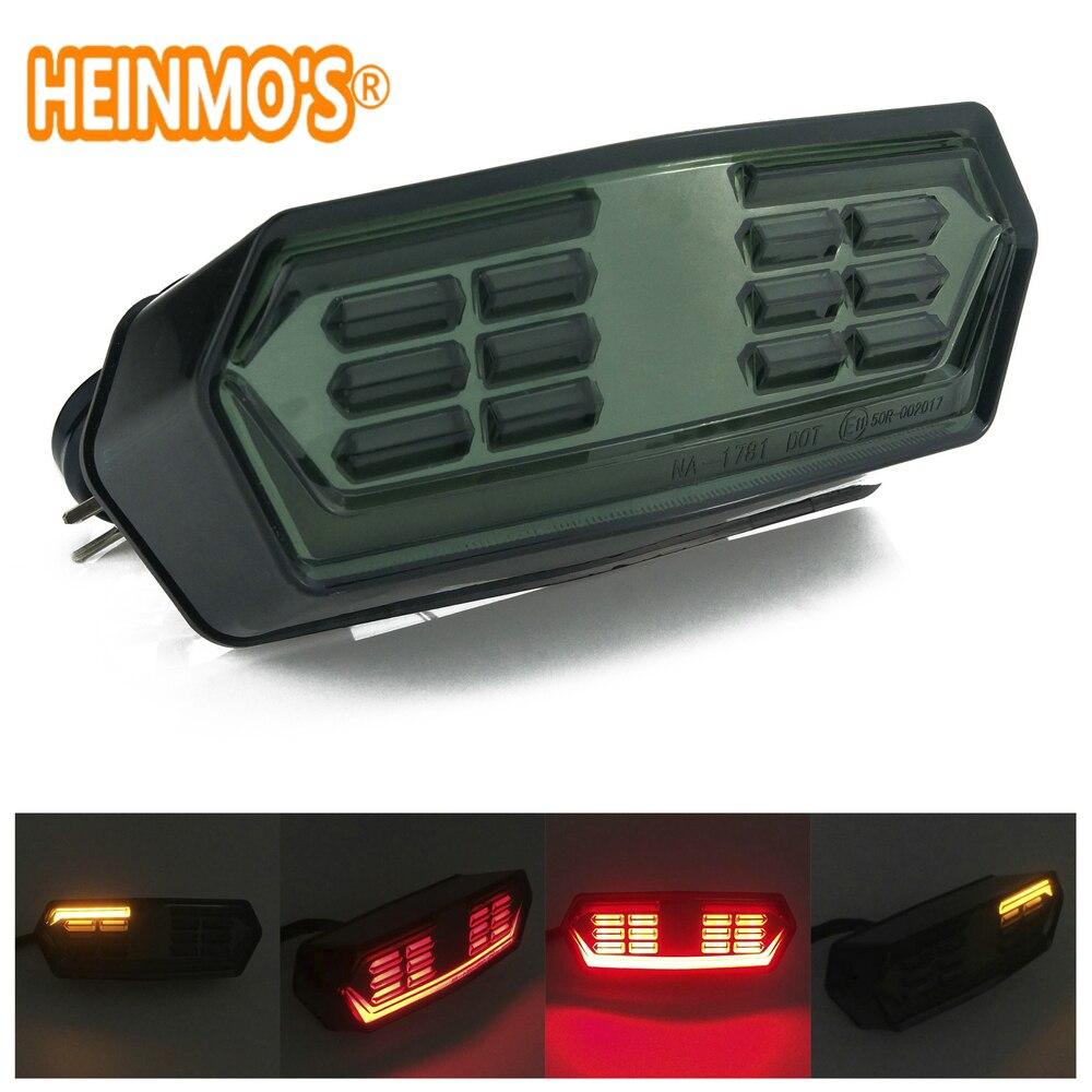 For MSX125 MXS 125 CBR650F CTX700 CTX700N Motorcycle LED Rear Tail Brake Stop Turn Signals Lamp Light Blinker Signal Moto