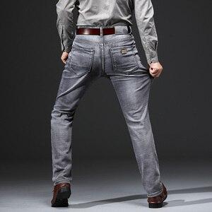 Image 3 - AIRGRACIAS Jeans Men Classic Retro Nostalgia Straight Denim Jeans Men Plus Size 28 38 Men Brand Long Pants Trousers
