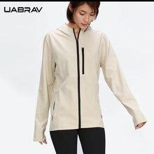 Спортивная Женская куртка на молнии с длинным рукавом для бега