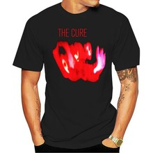 T SHIRT The Cure 'Pornography' NEW Cotton Retro O Neck Tops Tee Shirt 11 Colors For Mens