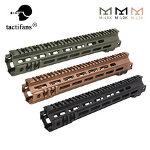 Protector de manos para M-LOK, riel táctico Modular, Picatinny, DDC, M4, AEG, Airsoft, accesorios de Paintball, 13, 9,5, 7 pulgadas, MK4