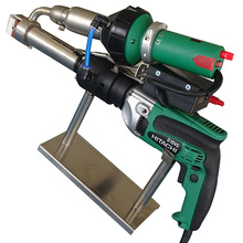 Цифровой дисплей экструзия тип пластик сварка пистолет подходит для сварки PP% 2FPE вода резервуар труба резервуар резервуар водонепроницаемый
