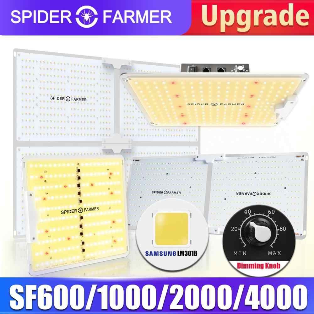 Spider Farmer SF 600W 1000W 2000W 4000W pełne spektrum LED rosną światła rosnące lampy oświetlenie Fitolampy dla roślin kwiaty siewu