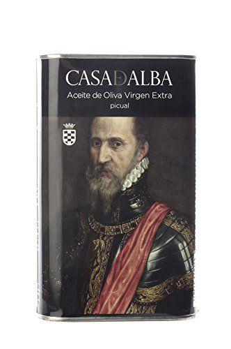 Casa De Alba Fine Food Virgin Olive Oil Tiziano Can – 500 Ml