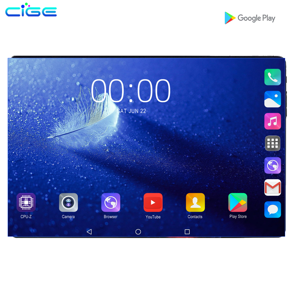 10 Inch Android Tablet PC 1280X800 FHD IPS Screen Octa Core 128GB 6GB RAM 4G LTE Phone Call Tablets WIFI GPS Bluetooth 10