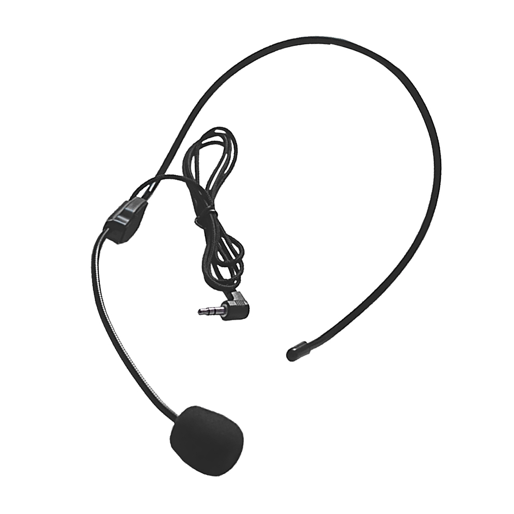 Universal Cell Phone Headset 3 5mm Wired Operator Style Flex Boom Microphone For Call Center Skype Office Electric Instrument Parts Accessories Aliexpress