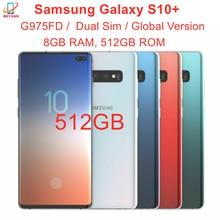 Samsung Galaxy S10 + S10 плюс Duos G975FD Dual Sim 512 ГБ ОЗУ 8 Гб ПЗУ Octa Core 6,4