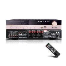 Kyyslb amplificador de áudio bluetooth X 200 650w, para casa, subwoofer 5.1, home theater, áudio digital, hifi, alta potência