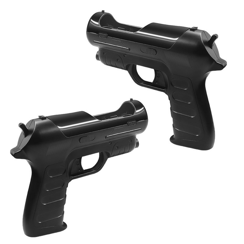 2pcs Light Gun Shooter Pistol for Sony PS4 PS3 PS Move Motion Controller Shooting Game controller handle VR game gun for PS4 image