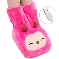 24W USB elektryczna mata grzewcza stopy ciepłe kapcie zima ręcznie ogrzewacz do stóp Sofa krzesło podgrzewacz ocieplenie poduszki domu podgrzewane podkładki