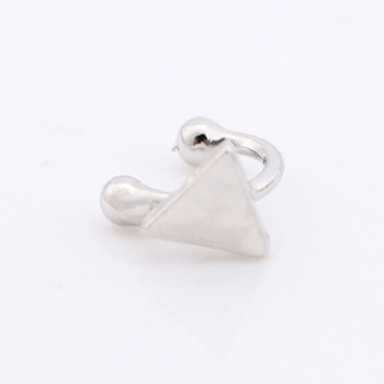 Europe and the United States hot  explosion retro five-pointed star love moon without ear piercing u-shaped earrings wholesale 4