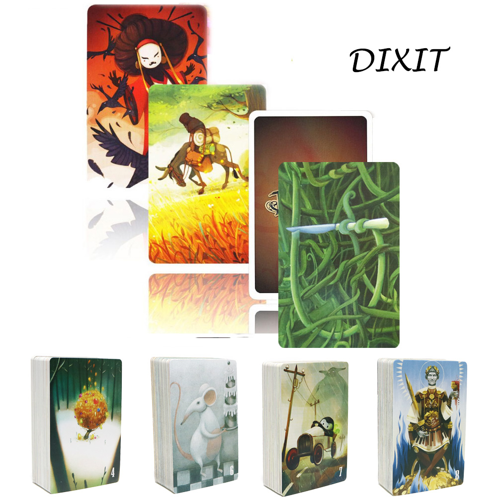 84 Cards Dixit Board Games Classical Cards Game For Kids Family Party Multiplayer Good Quality Factory Made