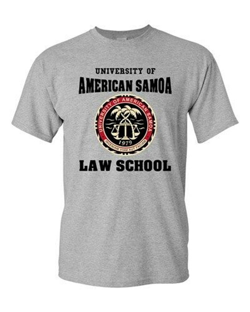 University Of American Samoa Law School Samoan Students Dt Adult T-Shirt Tee Outdoor Wear Tee Shirt image