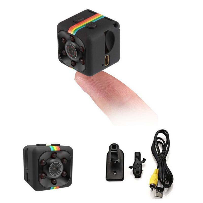FFYY-Camera Night Vision 1080P HD Video Recorder Portable Tiny With Night Vision And Motion Detection Security Camera For DV Vid