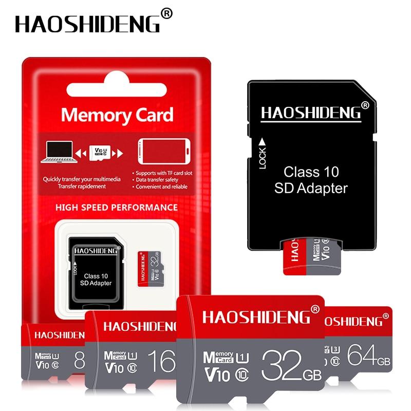 Carte Micro SD Class10 64GB 128GB SDXC carte mémoire flash 4GB 8GB 16GB 32GB carte SDHC cartao de mémoire Microsd TF pour smartphone