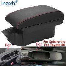 Para Toyota 86 reposabrazos para Subaru Brz compartimento de reposabrazos para coche para Scion Fr-S Frs Gt86 2012-2020 caja de almacenamiento de piezas de automóviles fácil de instalar