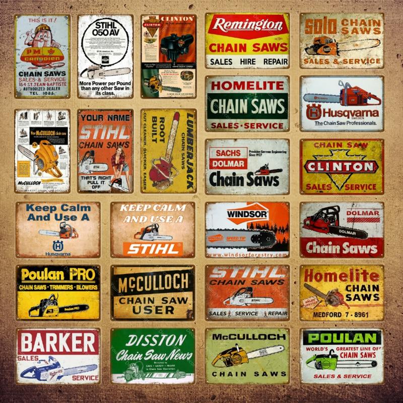 Ферма, фермерский гараж, магазин, Декор, Homelite, птица, цепные пилы, винтажные металлические знаки постер, настенная наклейка, табличка, фермер...