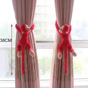 Suporte de cortina tieback fivela gancho braçadeira dos desenhos animados rato urso macaco cortina titular gancho decoração para casa cortina acessórios