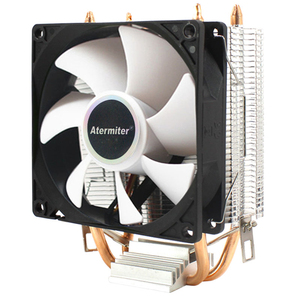 Image 5 - CPU Cooler High Quality 6 Heat Pipes Dual Tower Cooling 9cm RGB Fan LED Fan Support 3 Fans 3PIN CPU Fan For AMD And For Intel