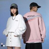 Sudadera con capucha de manga larga para hombre y mujer, ropa de chándal de gran tamaño, jerséis coreanos para adolescentes, moda urbana
