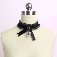 Lace Pendant Bell Choker Fashion Jewelry Cute-Collar Sexy Girls Gothic Simple Lovely