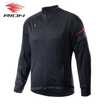 RION Winter Men Cycling Jersey Cycling Clothing Man Fleece Thermal Cycling Jacket Coat Autumn Bicycle Clothing MTB Bike Jersey arsuxeo men s cycling jacket winter thermal fleece warm up mtb bike jacket wind bicycle clothing windproof outdoor sports coat
