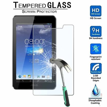 For ASUS MEMO Pad HD 7 ME173X ME173 - 9H Premium Tablet Tempered Glass Screen Protector Film Protector Guard  Cover free shipping new 7 inch black touch screen with digitizer replacment for asus memo pad hd 7 me173 me173x k00b k00u