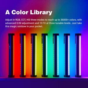 Image 4 - Godox TL30 بافو مصباح أنبوبي RGB التصوير المصغرة يده ضوء عصا مع APP التحكم عن بعد للصور فيديو فيلم Vlog VS 6C
