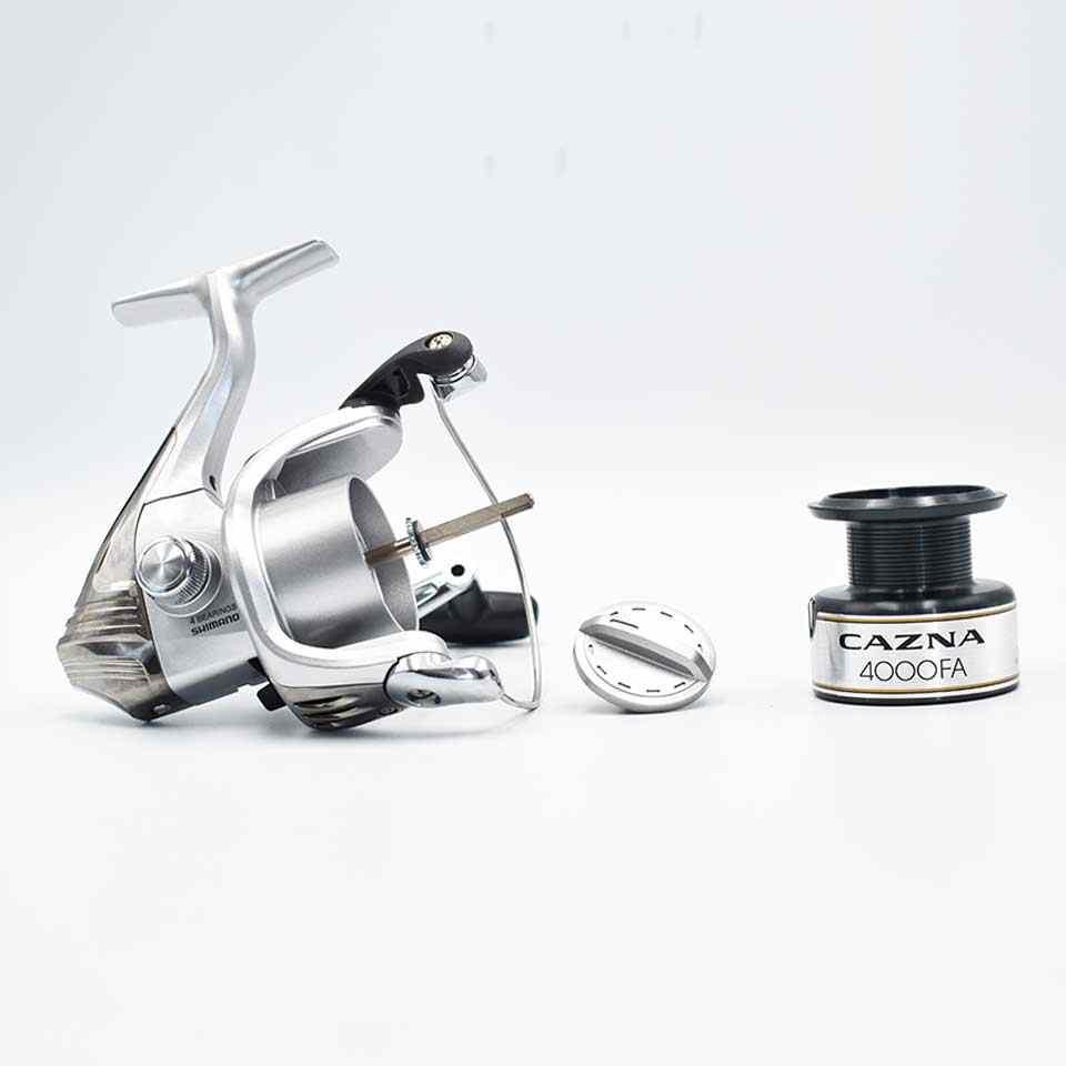 Shimano Cazna 2500FA/4000FA Spinning Vissen Reel 3 + 1BB Met AR-C Spool Stijve Lichaam Spinning Visserij-reel