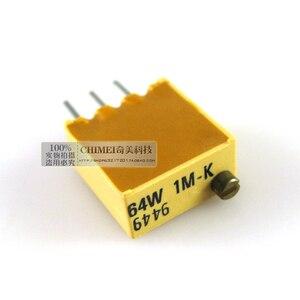 Бесплатная доставка. Много прецизионный потенциометр с настраиваемым сопротивлением 3296 Вт, 105 (1 м евро) электронные компоненты