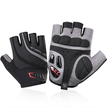 2 Pieces / Double New Half Finger Riding Gloves Outdoor Fishing Golf Special Summer Breathable Wear
