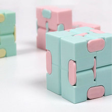 Adult Decompression Toy Infinity Magic Cube Square Puzzle Toys Relieve Stress Funny Hand Game Four Corner Maze Children Toys
