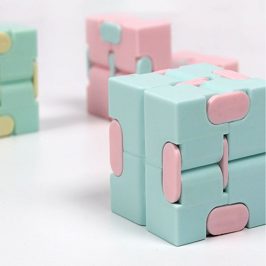 Decompression Toy Maze Magic Cube Hand-Game Square Relieve-Stress Funny Four-Corner Infinity