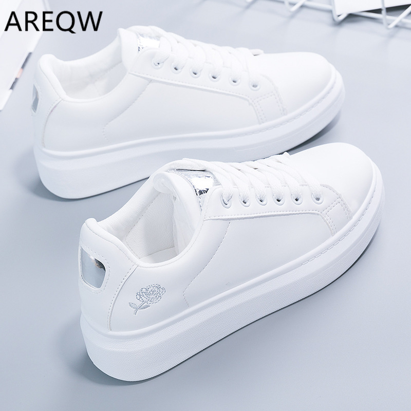 2020 Spring And Autumn Sneakers Women's Casual Shoes On The Platform Zapatillas Mujer Women's Breathable Shoes
