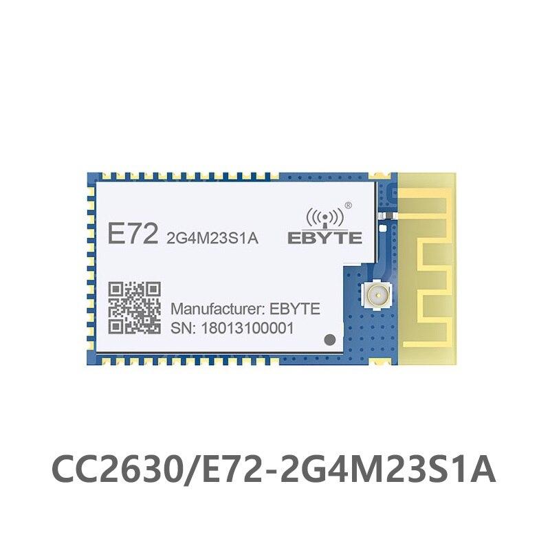 E72-2G4M23S1A CC2630 módulo Zigbee, 2,4 GHz 23dBm SMD transceptor 1500m 2,4g transmisor receptor IPX Antena de PCB CC2630 240MHz Antena Wifi Superbat Yagi 2,4 GHz 16dBi Booster Wireless-G para 802.11b/g/n WLAN RP-SMA Cable de enchufe macho 5m extensión de largo alcance