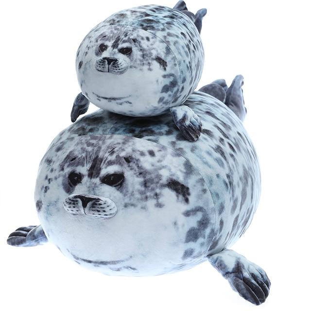Yuki Chan Fluffy Seal Pillow