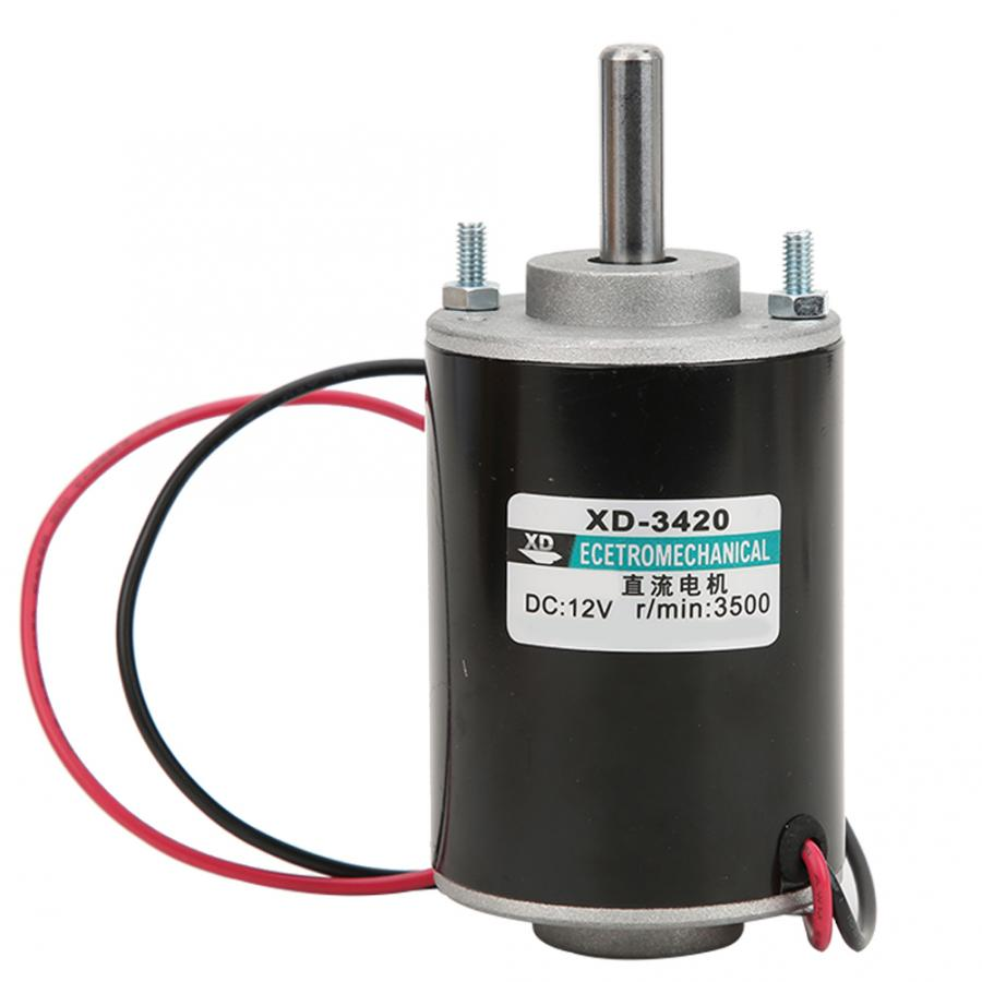 30W 12//24V 6000RPM Permanent Magnet DC Electric Small Motor High Speed CW//CCW US