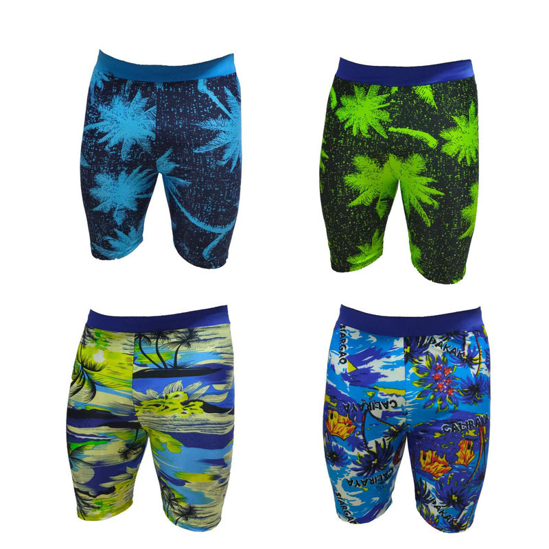 New Style Swimming Trunks Men's Short Swimming Trunks-Style Quick-Dry Large Size Swimming Trunks Bubble Hot Spring Swimming Suit