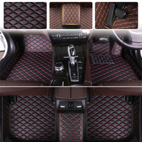 Custom fit car floor mats right hand drive For Nissan Bluebird 2006 2018 2017 2016 2015 2014 2013 2012 2011 2010 2009 2007 2008